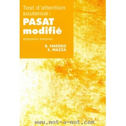 Test d'attention soutenue - PASAT modifié