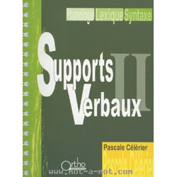 Supports verbaux II