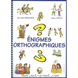 Enigmes orthographiques