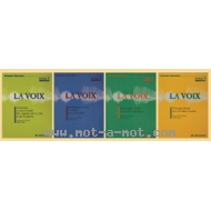 La voix - Pack 4 volumes