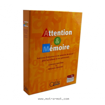 Attention et mémoire - Nouvelle édition 1