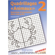 Quadrillages animaux n°2