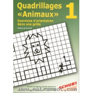 Quadrillages animaux n°1