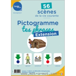 Pictogramme tes phrases - Extension 1