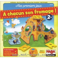 Mes premiers jeux - A chacun son fromage !