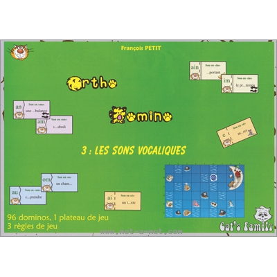 Ortho Domino 3 - Les sons vocaliques 1