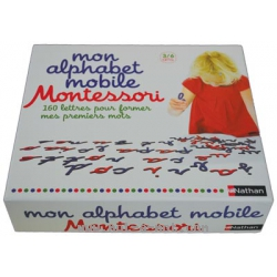 Mon alphabet mobile Montessori 1