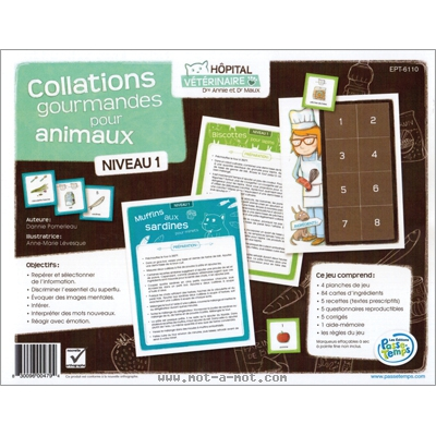 Collations gourmandes pour animaux 1