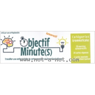 Objectif Minute(s) - Catégories grammaticales