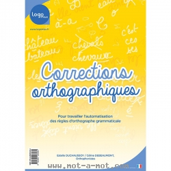 Corrections orthographiques