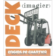 Imagier Deck - Engins de chantier