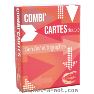 Combi'Cartes double - Sons /in/ et trigraphes
