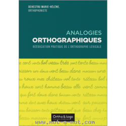 Analogies orthographiques 1