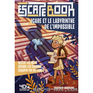 Escape book enfant - Icare et le labyrinthe de l'impossible