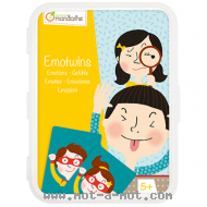 Jeu de cartes Emotwins