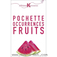 Pochette Occurrences Fruits
